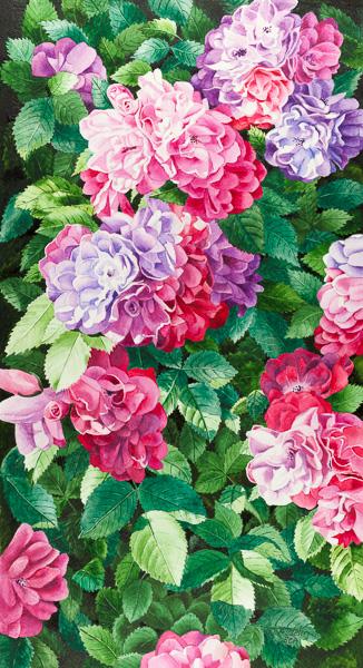 Fleurir à cœur joie, 10 x 20 po